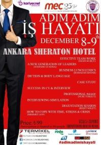 Adım Adım İş Hayatı, Bilkent Universitesi Aralık 8-9, 2012